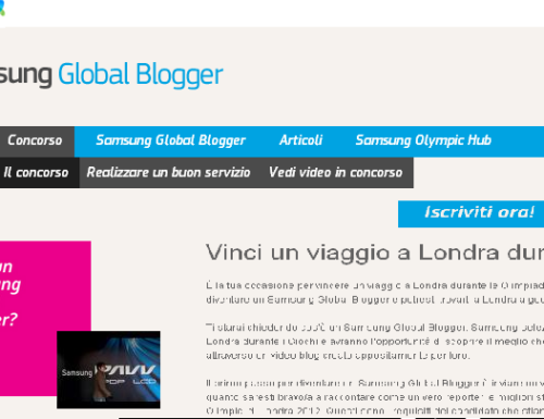 Samsung Global Blogger