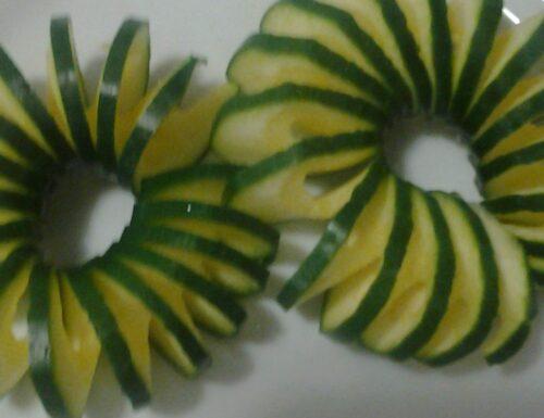 Riso zucchine anacardi