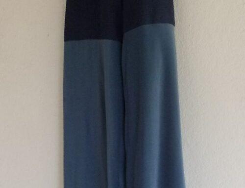Bi-Color Wide Leg Pant